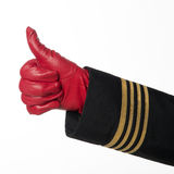 Thumbs up sign Stock Photography
