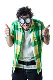 Thumbs up for Steampunk Stock Photo