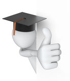 Thumbs Up! Student Stock Photo