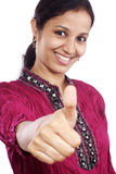 Thumbs up-Success Royalty Free Stock Photography