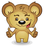 Thumbs Up Teddy Bear Royalty Free Stock Photo