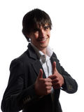 Thumbs up! Twice... Royalty Free Stock Image