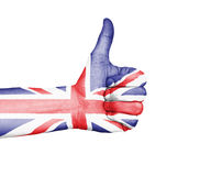 Thumbs Up - United Kingdom Royalty Free Stock Photos