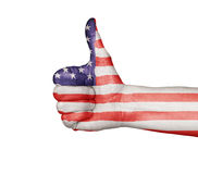 Thumbs Up - United States of America Royalty Free Stock Photo