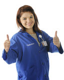 Thumbs Up for Volunteering Stock Images