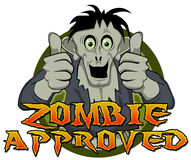 Thumbs Up Zombie Approved Stock Photos