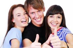 Thumbs-upzeichen Lizenzfreie Stockfotos