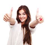Thumbsup royalty free stock image