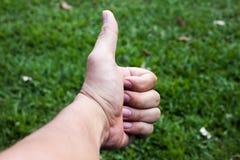 Thumbsup Imágenes de archivo libres de regalías