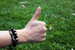 Thumbsup Fotografía de archivo libre de regalías