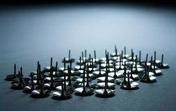 thumbtack поля Стоковая Фотография RF