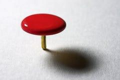 Thumbtack rouge Image libre de droits