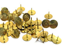Thumbtacks Royalty Free Stock Photo