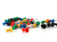 Thumbtacks Royalty Free Stock Image