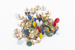 thumbtacks immagine stock
