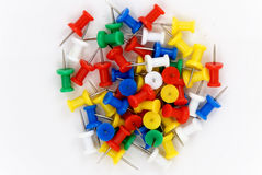Thumbtacks Stock Photo