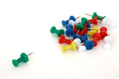 Thumbtacks Stock Photos