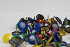 thumbtacks Стоковые Фотографии RF