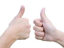 thump руки собрания вверх Стоковое Изображение