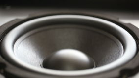 Thumping Bass Audio Speaker Royalty Free Stock Image