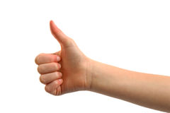 Thumps up Stock Image