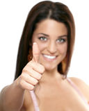 Thumps up! Stock Image