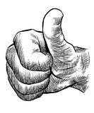 Thumps up Royalty Free Stock Photos
