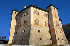 Thun Castle - Italy Stock Photography
