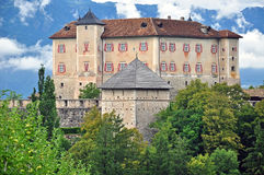 Thun castle, Italy Stock Images