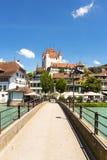 Thun castle Stock Images