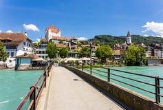 Thun castle Royalty Free Stock Photos