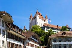 Thun castle Stock Photography