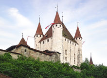 The Thun castle. Royalty Free Stock Photo