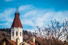 Thun i Schweiz Royaltyfri Foto