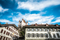 Thun i Schweiz Royaltyfri Bild