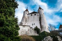 Thun i Schweiz Arkivbilder