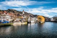 Thun i Schweiz Royaltyfri Fotografi
