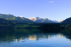 Thun lake Stock Image