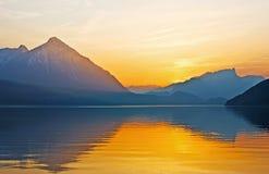 The Thun Lake Royalty Free Stock Image