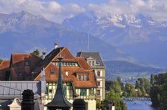 Thun. Nice city in Switzerland Royalty Free Stock Image