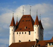 Thun Schloss, die Schweiz Stockfoto