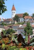 Thun Schweiz Arkivfoto