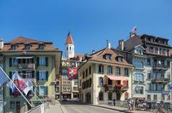 Thun-Stadtbild Lizenzfreies Stockbild