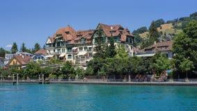 Thun-Stadtbild Stockfoto