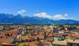 Thun-Stadtbild Lizenzfreie Stockfotografie