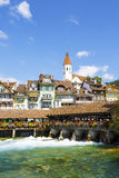 Thun, Stadtbild, die Schweiz Lizenzfreie Stockfotografie