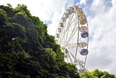 Thun, Suíça - 23 de julho de 2017 roda de Ferris Foto de Stock