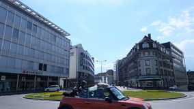 Thun, Zwitserland stock afbeeldingen