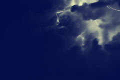 Thunder. Royalty Free Stock Photos