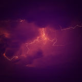Thunder. Royalty Free Stock Photo